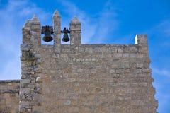 Una segnalatore-torretta del monastero Beit-Gamal nell'Israele Fotografia Stock