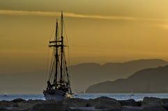 Una sera al Mar Rosso Fotografia Stock