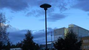 Una sera a Stoccolma fotografia stock libera da diritti