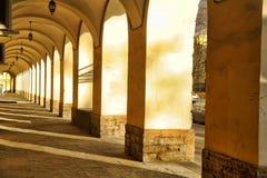 Una serie di arché arcati Fotografie Stock