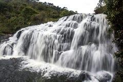 Una sezione del ` s del panettiere cade a Horton Plains National Park nello Sri Lanka Fotografia Stock Libera da Diritti