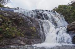 Una sezione del ` s del panettiere cade a Horton Plains National Park nello Sri Lanka Horton Plains National Park è una zona prot Immagini Stock Libere da Diritti
