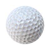 Una sfera di golf bianca Immagini Stock Libere da Diritti