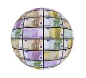Una sfera di soldi Immagini Stock