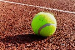 Una sfera di tennis Fotografia Stock Libera da Diritti