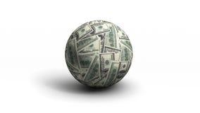 Sfera del dollaro Immagine Stock Libera da Diritti