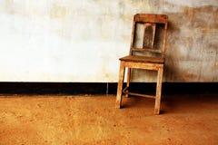 Una silla Imágenes de archivo libres de regalías