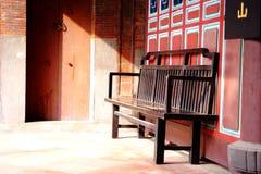 Una silla china antigua Fotografía de archivo