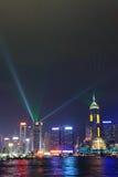 Una sinfonía de luces Imagen de archivo libre de regalías