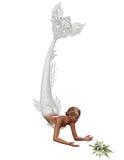 Una sirena della sposa Fotografie Stock