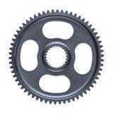 Una sola rueda de acero aislada del diente Imagen de archivo libre de regalías