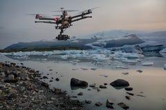 Una sonda del mutamento climatico Immagini Stock Libere da Diritti