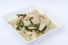 Una sopa tailandesa imágenes de archivo libres de regalías