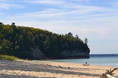 una spiaggia da 12 miglia Fotografie Stock