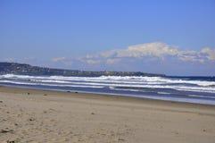 Una spiaggia da sette miglia Immagine Stock