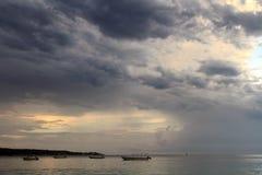 Una spiaggia da sette miglia jamaica Immagini Stock