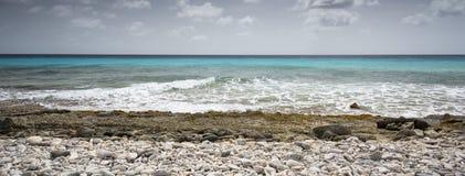 Una spiaggia del Bonaire Fotografia Stock