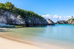 Una spiaggia delle Bermude immagine stock