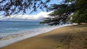 Una spiaggia di Maui Fotografia Stock