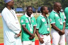 Una squadra nigeriana di polo Fotografia Stock Libera da Diritti
