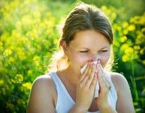 Una stagione di allergia Fotografia Stock Libera da Diritti