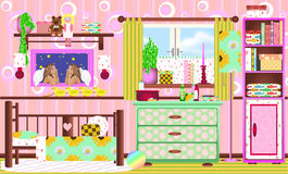 Una stanza di Childs Immagini Stock