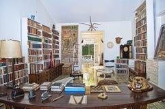 Una stanza di studio classica Immagini Stock Libere da Diritti