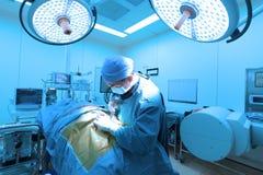 Una stanza in funzione dell'ambulatorio veterinario Immagine Stock