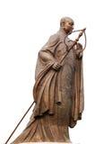 Una statua del sacerdote di linguetta Fotografie Stock Libere da Diritti