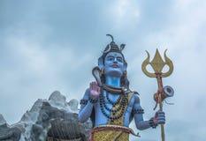 Una statua dello shiva di signore Fotografia Stock