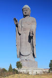Una statua di grande Buddha in Ushiku Fotografia Stock
