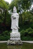 Una statua enorme di Guanyin Fotografie Stock Libere da Diritti