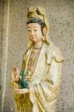 Una statua enorme di Guanyin Fotografia Stock