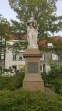 Una statua a mio luogo natio in Germania Immagine Stock