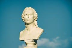 Una statua nel Portogallo Immagine Stock