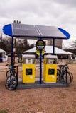 Stazione di carico solare Immagine Stock