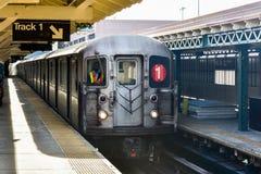 Una stazione di 242 vie - sottopassaggio di NYC Fotografie Stock Libere da Diritti