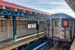 Una stazione di 242 vie - sottopassaggio di NYC Fotografie Stock