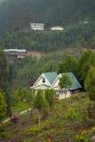 Una stazione turistica alla cima della collina Immagine Stock