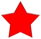 Una stella dei 5 punti Immagine Stock