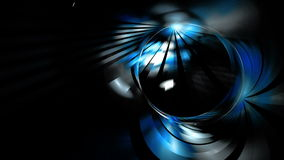 Una stella grafica che irradia il fondo leggero e blu di moto alfa illustrazione di stock