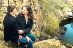Una storia di amore in natura Fotografia Stock