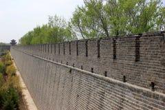 Una storia nella parete della Cina Fotografie Stock Libere da Diritti