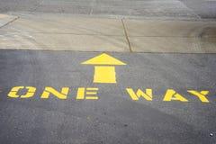 Una strada privata di modo Immagini Stock Libere da Diritti