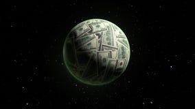 Mondo di Dolar Fotografia Stock