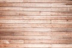 Una struttura di legno della plancia della parete per fondo immagine stock libera da diritti