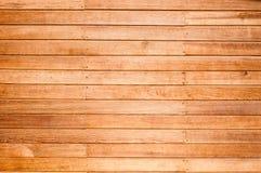 Una struttura di legno della plancia della parete per fondo fotografia stock