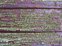 Una struttura di vecchio legno verniciato Fotografia Stock Libera da Diritti