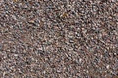 Una superficie di piccole pietre e ghiaia 23 Fotografia Stock