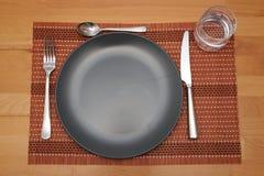 Una tabella posta Fotografie Stock Libere da Diritti